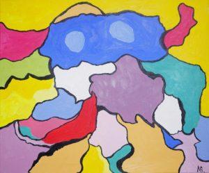 """Childhood"" Oil on canvas 50*60 cm"
