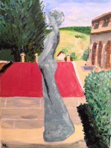 Oil on canvas, 18*24 cm