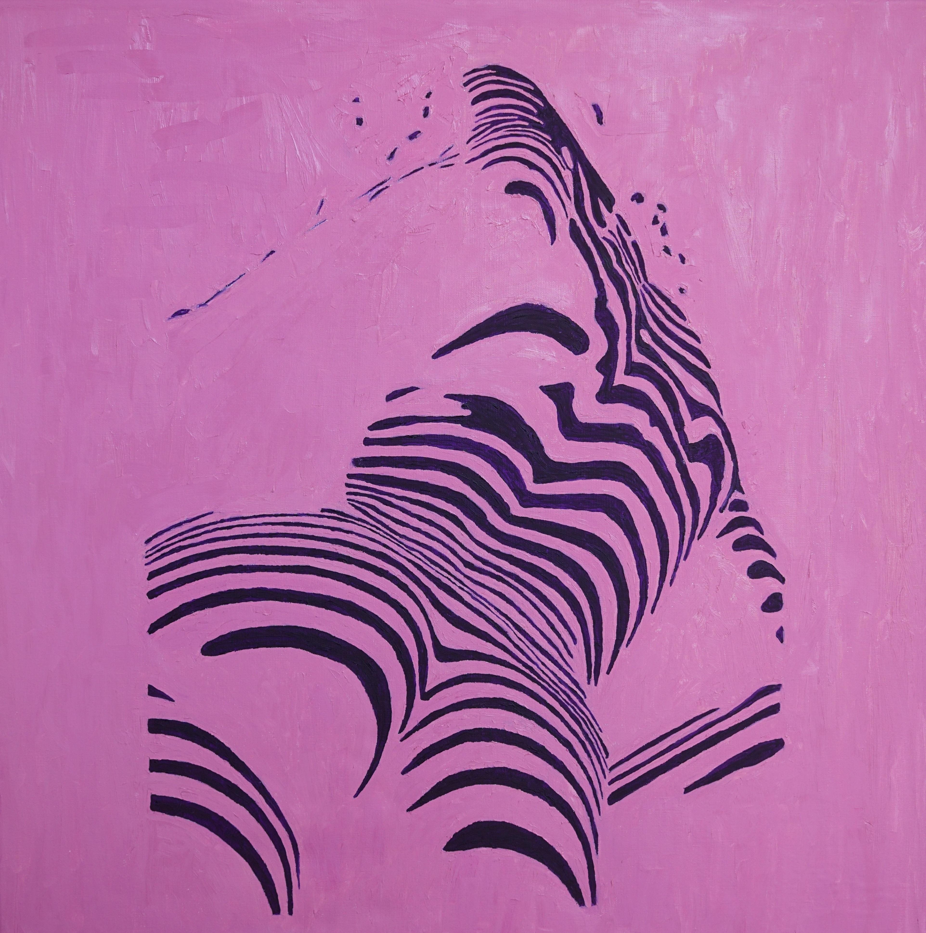 "Diptych ""Pretty woman"", Oil on canvas, 90*90 cm"